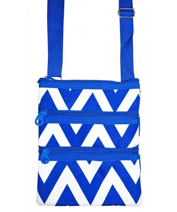 Ever Moda Chevron Crossbody Bag