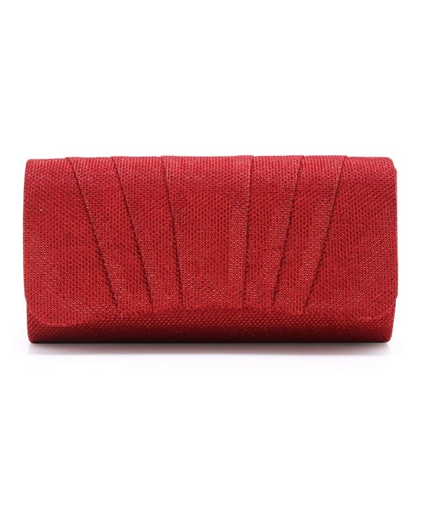 Damara Womens Perfectly Pleated Clutch