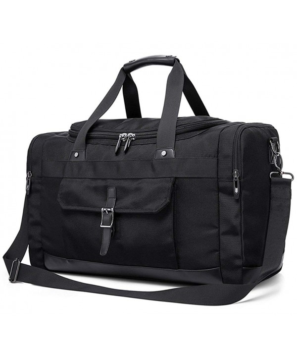 IBEILLI Overnight Leather Resistant Weekender