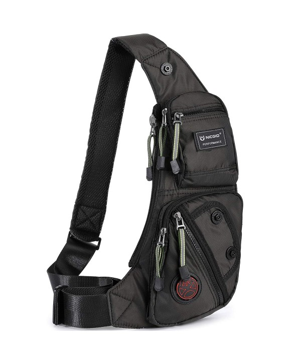 Nicgid Sling Shoulder Backpack Crossbody