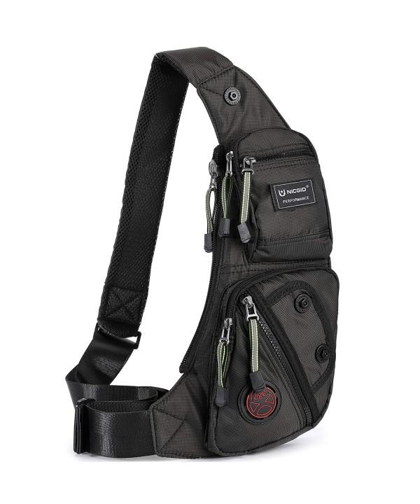 Nicgid Sling Shoulder Backpack Crossbody