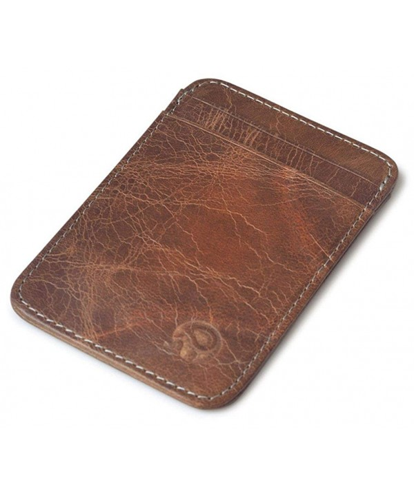 sooloon Vintage Genuine Leather Wallet