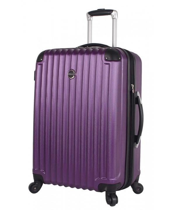 Lucas Outlander Expandable Rolling Suitcase