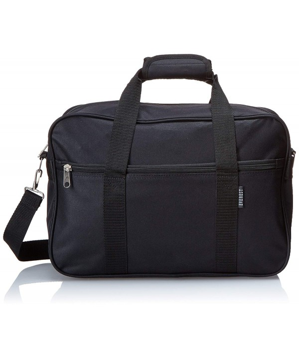 Everest Carry Briefcase Black Size