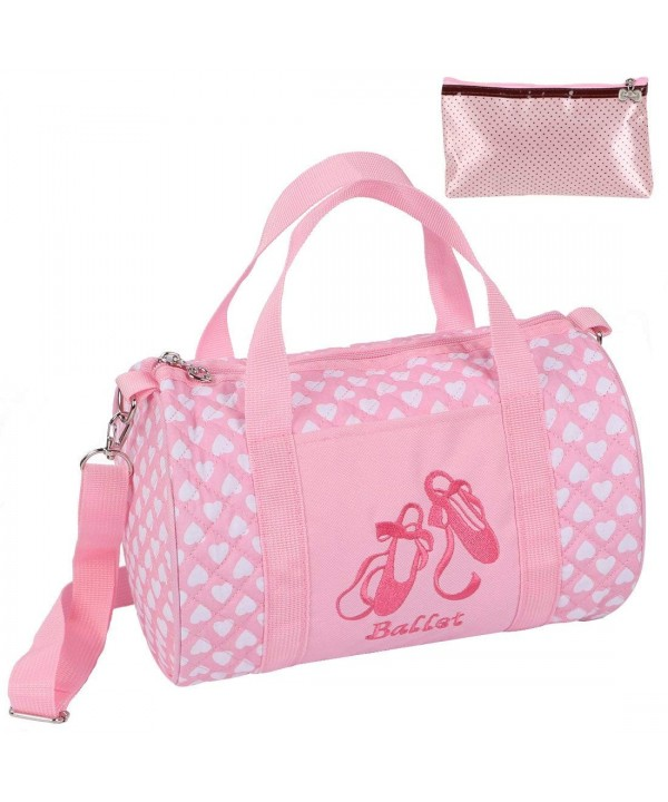 kilofly Ballerina Ballet Crossbody Zippered