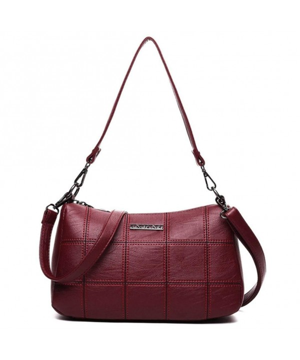 KONFA Crossbody Leather Pattern Shoulder