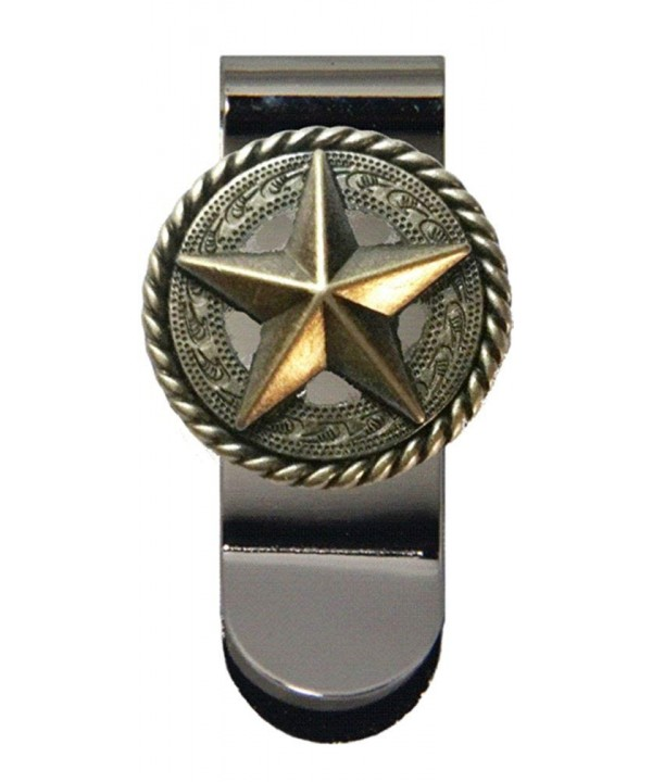 Fancy Garland Star Money Clip