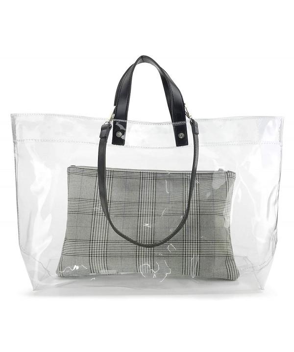 Vintage Zipper Weekender Shoulder Handbag