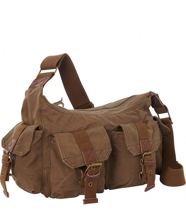 Vagabond Traveler Canvas Messenger Military