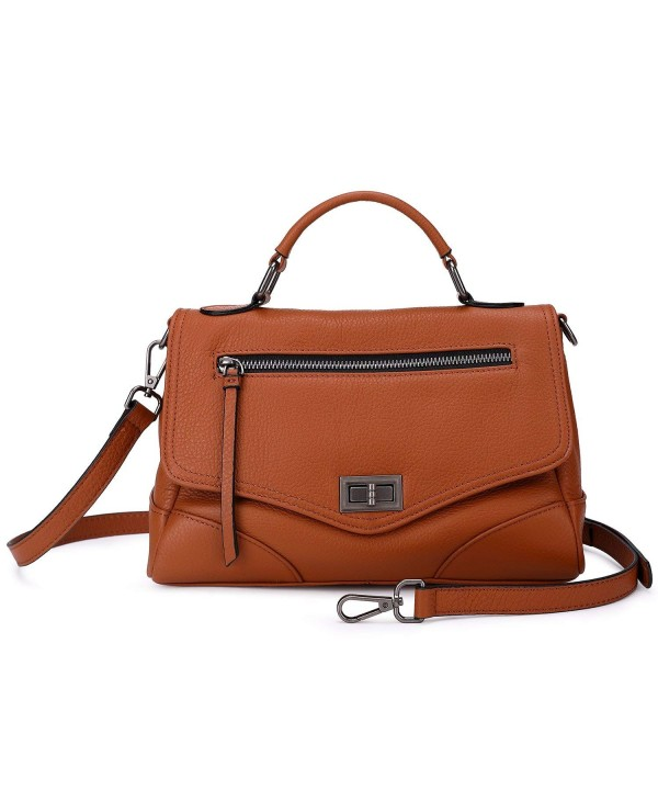 Leather Handbags Functional Crossbody Shoulder