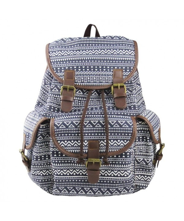 Imiflow Backpack College Schoolbags Pattern