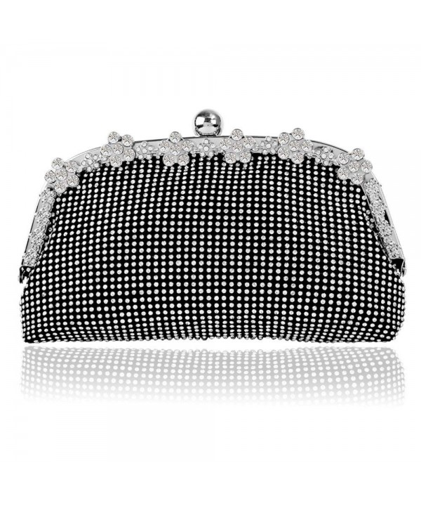 Bagood Rhinestones Crystal Clutches Shoulder