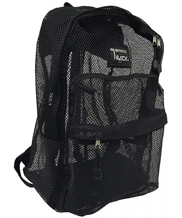 New Track Through Mesh Backpack