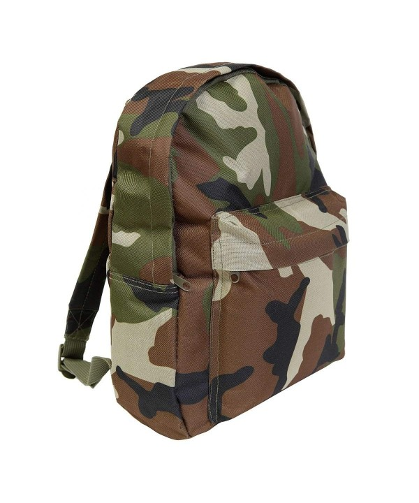 Woodland Camouflage Backpack 15ltr Rucksack