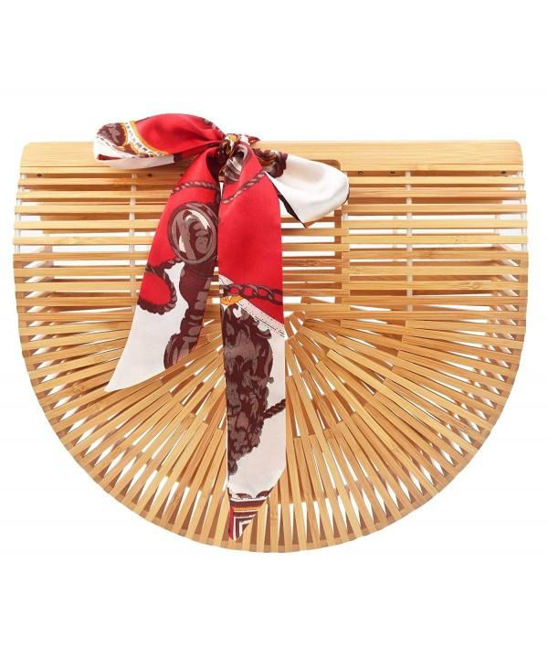 Womens Bamboo Covelin Handmade Handbag