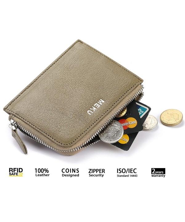MEKU Blocking Leather Wallet Business