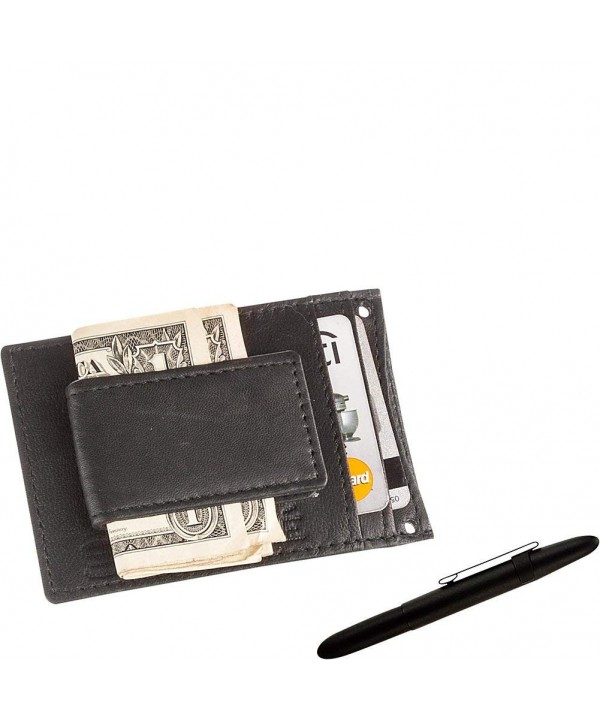 Suvelle Leather Magnetic Wallet Fisher