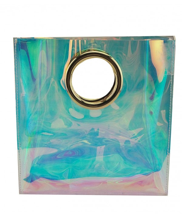 Mogor Handbag Hologram Transparent Shopper