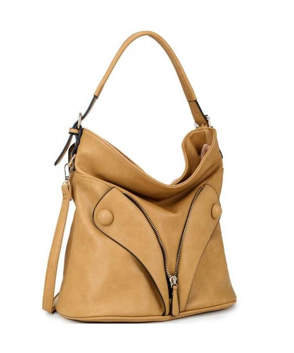 Dasein Fashion Simple Shoulder Handbag
