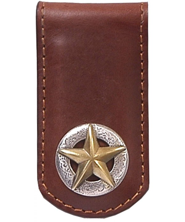 3D Tan Western Money Clip