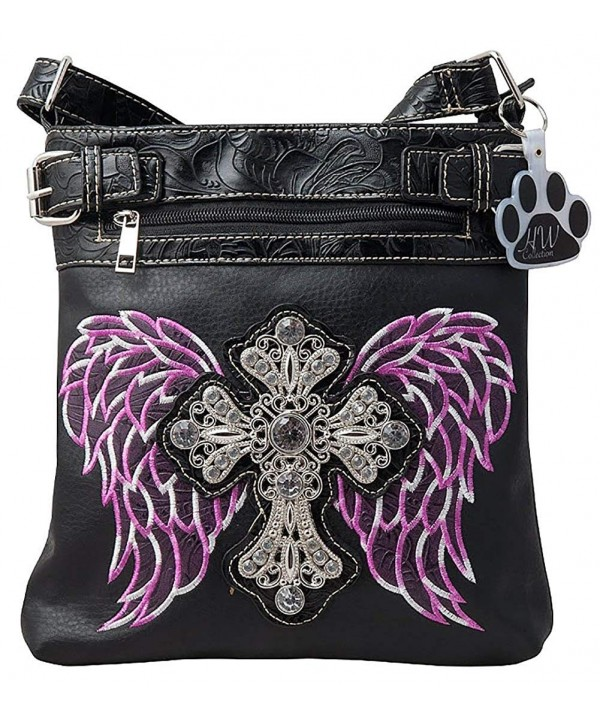HW Collection Rhinestone Concealed Crossbody