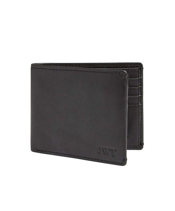 Co Wallet Monogrammed Wallet Divided Compartment Multi Card Capacity Mens
