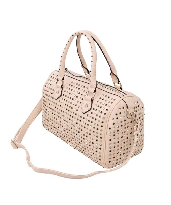 Premium Studded Rhinestone Satchel Shoulder