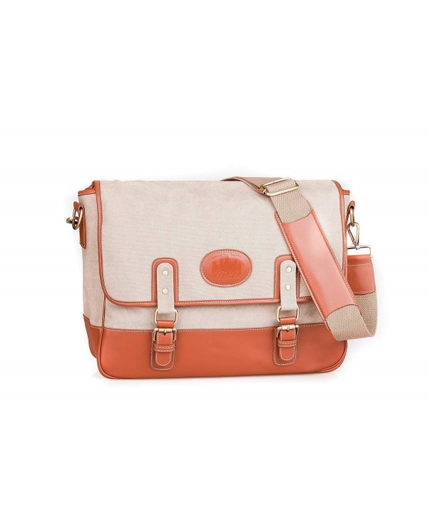 Classic Leather Messenger Satchel Shoulder