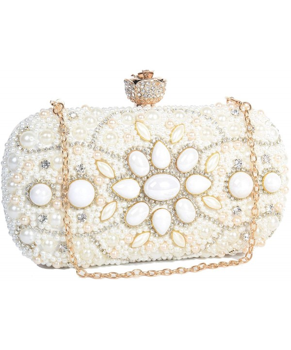 Pulama Rhinestone Wedding Evening Handbag