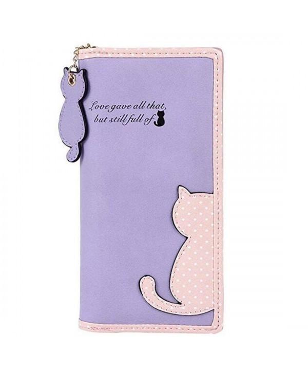 NEWANIMA Womens Capacity Handbag Style3 Purple