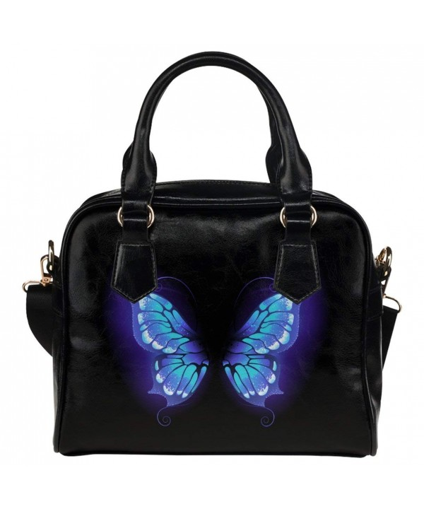 CASECOCO Butterfly Leather Handbag Shoulder