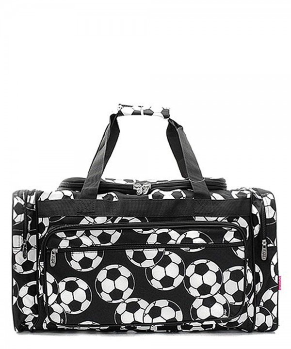 Soccer Print Overnight Duffel Shoulder