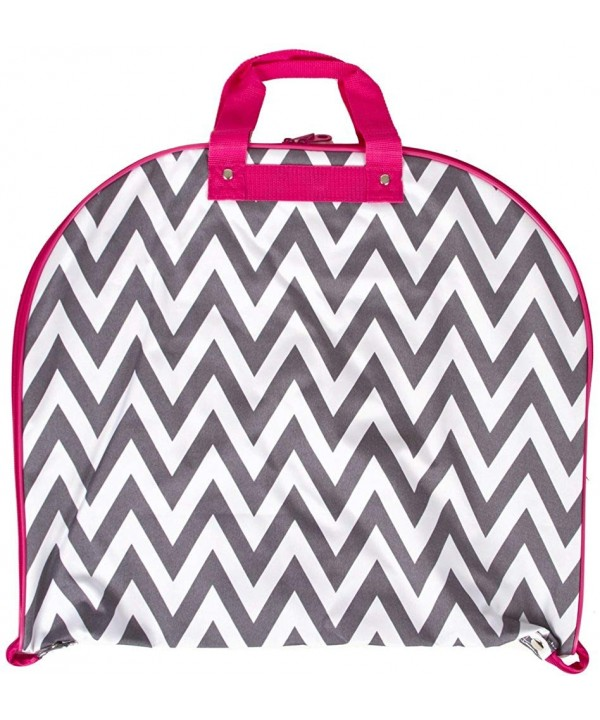 Ever Moda Chevron Hanging Garment