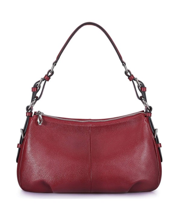 S ZONE Genuine Leather Shoulder Top handle