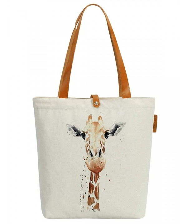 Soeach Womens Giraffe Graphic Shoulder