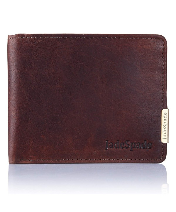 Jade Spade Bi Fold Leather Chestnut