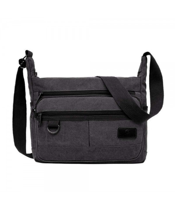 Vintage Multi pocket Messenger Crossbody Shoulder