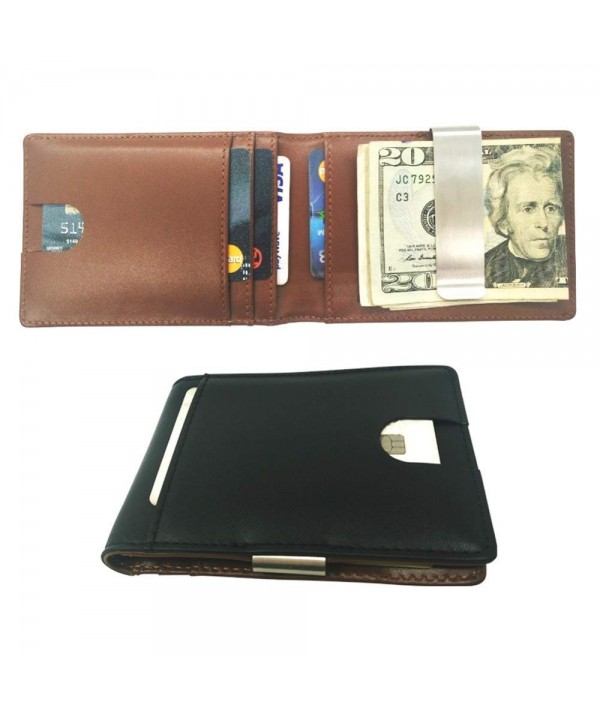 Slim Wallet Men Minimalist Non Magnetic