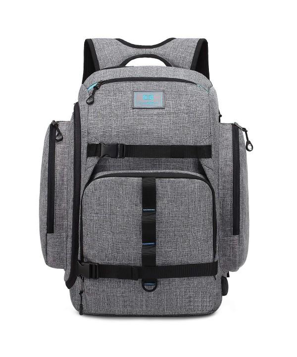 Srotek Backpack Computer Skateboard Water Resistant