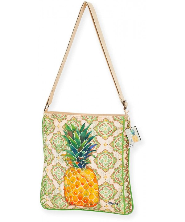 Paul Brent Pineapple Crossbody Handbag