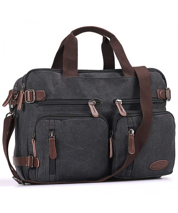 b5d76caed4 Laptop Backpack-Multifunction Briefcase Messenger Bag 15.6 Inch ...