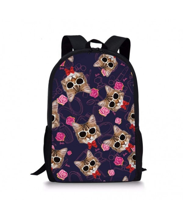 Coloranimal Printing Backpack School Bookbags