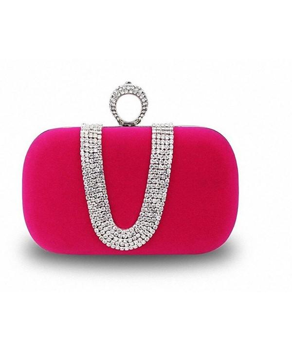 Afibi Crystal Evening Handbags Shoulder