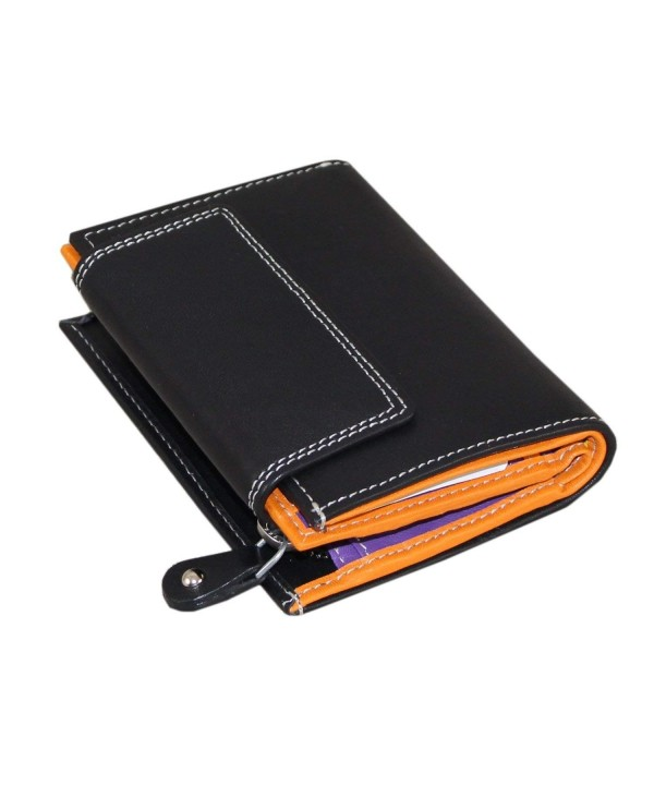Wallet blocking Designer Leather Compartment