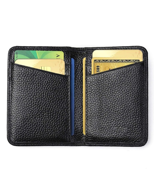 Blocking Credit Genuine Leather Wallets
