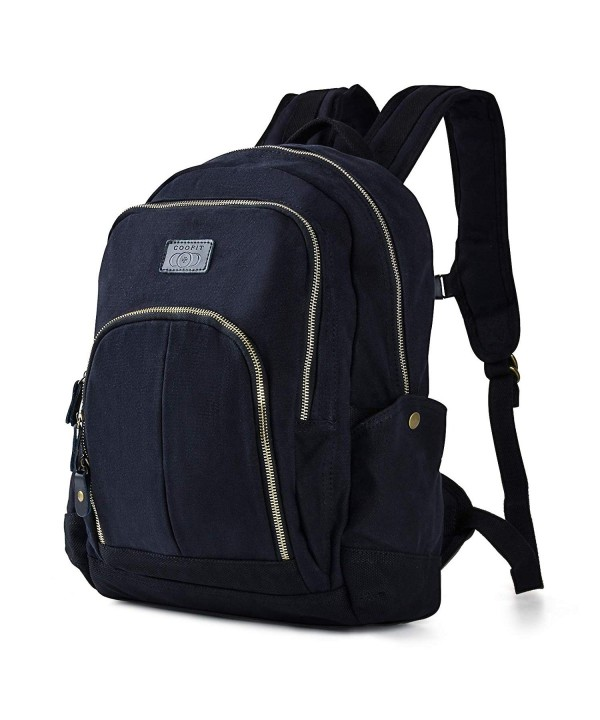Backpack for Men- Canvas Backpack College School Backpack Casual ... 0d057b87f7d23