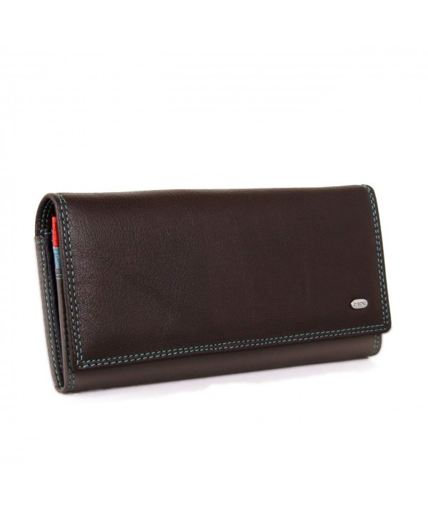 Dr Bond Womens Genuine Leather Wallet