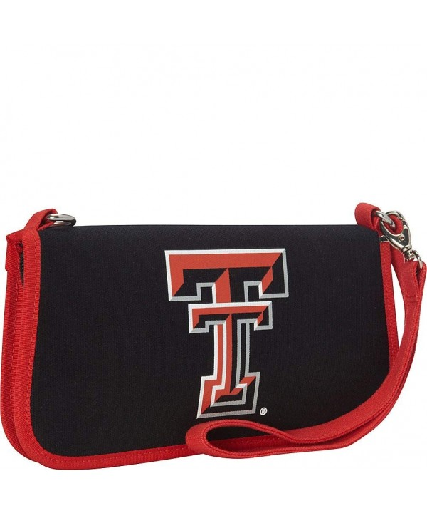 Texas University Canvas Clutch Wallet