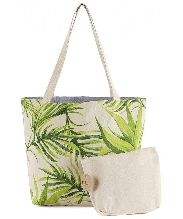Multi Purpose Tropical Canvas Shopping Shoulder
