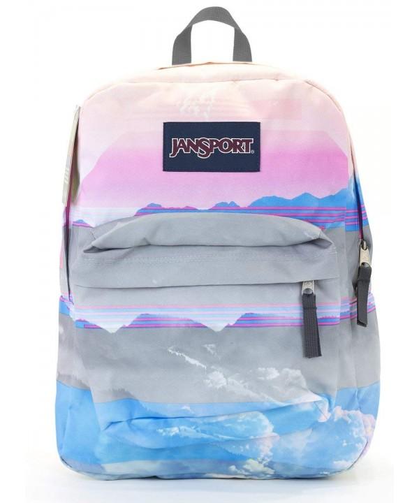 Jansport Superbreak Backpack multi linear